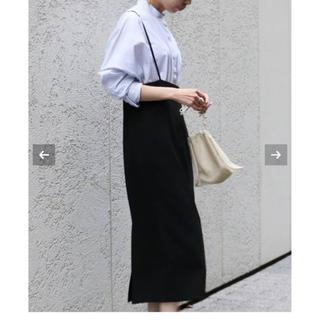 ノーブル(Noble)のNOBLE 試着のみ ショルダーストラップ サロペットスカート 40(ひざ丈スカート)