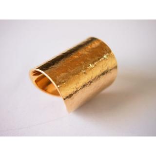 超幅広Brass(真鍮)リング【細目】(リング(指輪))