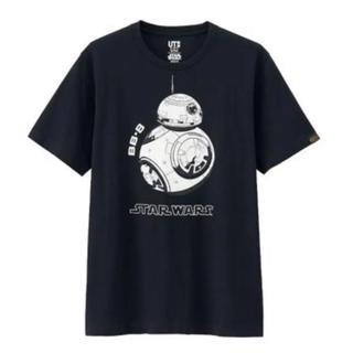 ユニクロ(UNIQLO)のユニクロ スターウォーズ BB-8 tシャツ  ブラック(SF/ファンタジー/ホラー)