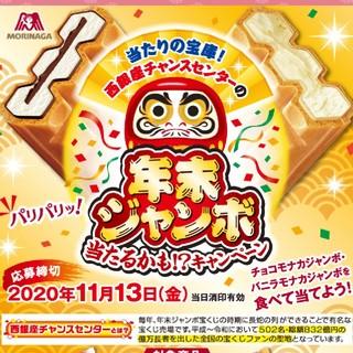 懸賞 チョコモナカジャンボ バーコード 14枚(その他)
