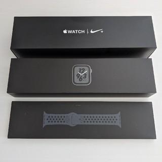 アップル(Apple)のApple Watch Nike+ Series 4 40mm スペースグレイ(腕時計(デジタル))