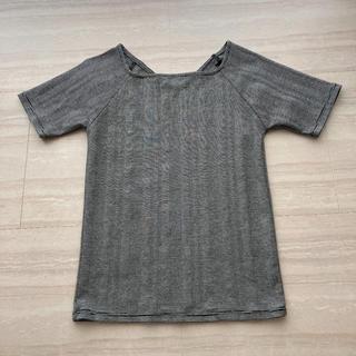ナノユニバース(nano・universe)のスクエアネックテレコリブトップス(Tシャツ(半袖/袖なし))