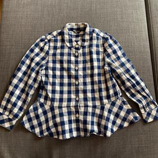 コムサイズム(COMME CA ISM)のコムサイズムチェックシャツ(ブラウス)