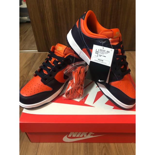 NIKE(ナイキ)のNIKE DUNK LOW SP Champ Colors 27cm メンズの靴/シューズ(スニーカー)の商品写真