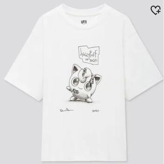 ポケモン(ポケモン)のポケモン ユニクロ ダニエル・アーシャムコラボTシャツ プリン 白XL(Tシャツ/カットソー(半袖/袖なし))