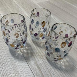 値下げ!! チェコ製 高級 Bohemian glass ボヘミア グラス(グラス/カップ)