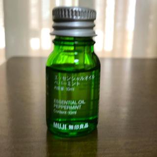 ムジルシリョウヒン(MUJI (無印良品))の無印良品 エッセンシャルオイル ペパーミント 10ml(エッセンシャルオイル(精油))