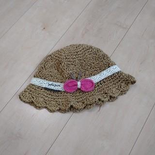 プチジャム(Petit jam)のpetit jam*帽子*48cm(帽子)