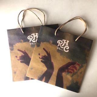 ロンハーマン(Ron Herman)のRHC ショッパー 紙袋 2枚セット(ショップ袋)
