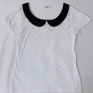 リズリサ(LIZ LISA)のTRALALA リボンカットソー(カットソー(半袖/袖なし))