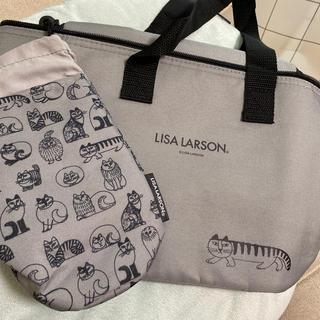 リサラーソン(Lisa Larson)のリサラーソン 保冷バッグとペットボトルホルダー2点(弁当用品)