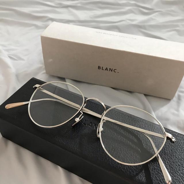 Ayame(アヤメ)のBLANC BM007-LI/SILVER1 ayame レディースのファッション小物(サングラス/メガネ)の商品写真