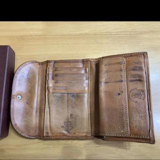 ホワイトハウスコックス(WHITEHOUSE COX)のホワイトハウスコックス ヴィンテージブライドルレザー 高級 三折財布 ナチュラル(折り財布)