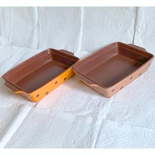 グラタン皿 2点(食器)