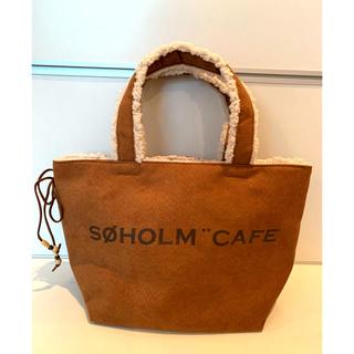 アクタス(ACTUS)の【新品】SOHOLM CAFE トートバッグ  ACTUS スーホルムカフェ(トートバッグ)