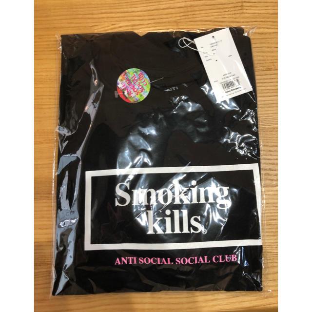 ANTI(アンチ)の未開封 Anti Social Social Club FR2 Tシャツ M メンズのトップス(Tシャツ/カットソー(半袖/袖なし))の商品写真