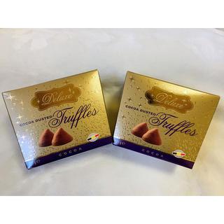 デラックス(DELUXE)の新品 未開封 デラックス トリュフチョコレート 2箱セット♡(菓子/デザート)