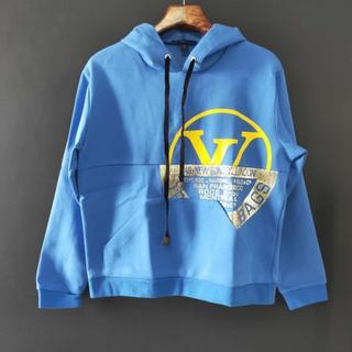 ルイヴィトン(LOUIS VUITTON)の20AW Louis Vuitton ワールドシール スウェットシャツ パーカー(パーカー)