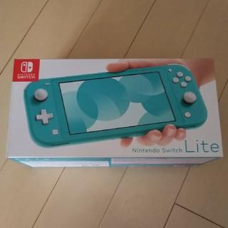ニンテンドースイッチ(Nintendo Switch)の早い者勝ち 1点 新品 ニンテンドー スイッチ ターコイズ 任天堂 保証 正規(家庭用ゲーム機本体)