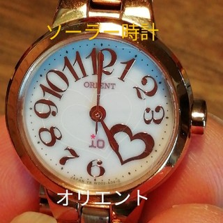 オリエント(ORIENT)のラ96.. オリエント io  ソーラー時計 (腕時計)