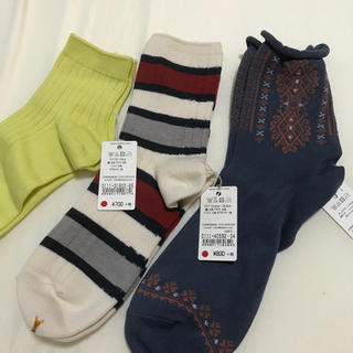 クツシタヤ(靴下屋)の【お得!!】新品 靴下屋 レディース サイズ22~24㎝(ソックス)