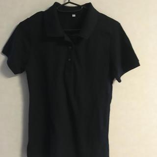 ムジルシリョウヒン(MUJI (無印良品))のポロシャツ 黒(ポロシャツ)