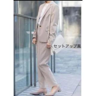 ジーユー(GU)のg.u ジーユー セットアップ スーツ 黒(スーツ)
