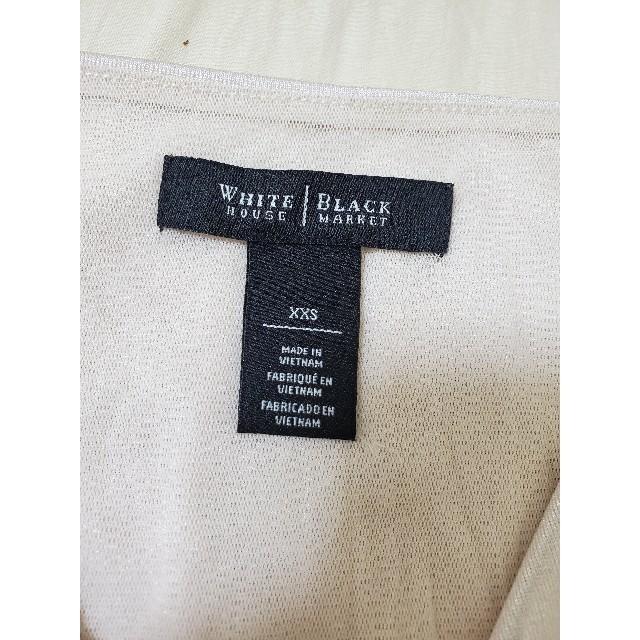 WHITEHOUSE COX(ホワイトハウスコックス)のWHITE HOUSE BLACK MARKET 光沢ありトップス タンクトップ レディースのトップス(タンクトップ)の商品写真