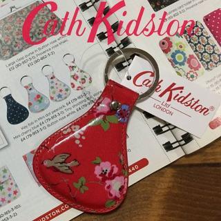 キャスキッドソン(Cath Kidston)の新品 キャスキッドソン キーフォブ キーリング バードレッド(キーホルダー)