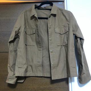 ユニクロ(UNIQLO)のUNIQLO ジャケット 美品(ミリタリージャケット)