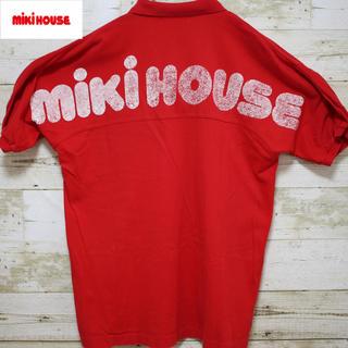 ミキハウス(mikihouse)のmikihause ミキハウス ポロシャツ 90年代 ヴィンテージ ビッグロゴ(ポロシャツ)