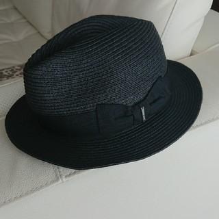 ディーゼル(DIESEL)のDIESEL/ディーゼル ドロー ハット 帽子 麦わら(麦わら帽子/ストローハット)