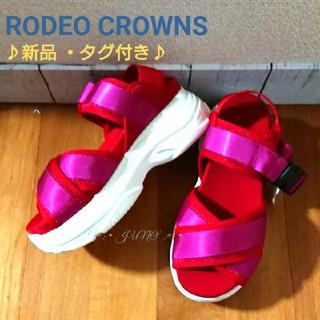ロデオクラウンズ(RODEO CROWNS)のベルトスポサン♡RODEO CROWNS ロデオクラウンズ(サンダル)
