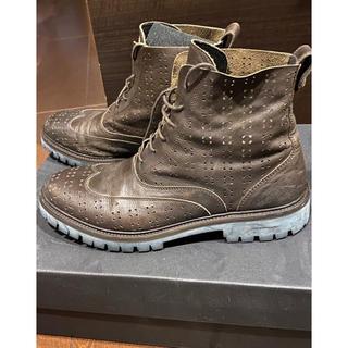ディーゼル(DIESEL)のDiesel BlackGordのブーツ ブラウンレザー 美品(ブーツ)