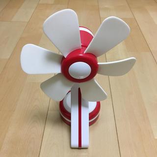 エルパ(ELPA)のELPA ミニデスクファン(扇風機)