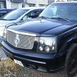 キャデラック(Cadillac)の値下げしました。02年式エスカレード貨物登録 車両交換可能(車体)