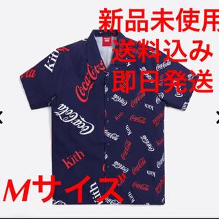 シュプリーム(Supreme)のKITH シャツ X COCA-COLA PRINTED CAMP COLLAR(シャツ)