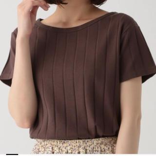 スタディオクリップ(STUDIO CLIP)の値下げ!ワイドリブクルーネック半袖tシャツ(Tシャツ/カットソー(半袖/袖なし))