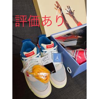 ナイキ(NIKE)のUNION × NIKE AIR JORDAN 4 RETRO SP GUAVA(スニーカー)