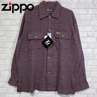 ジッポー(ZIPPO)の☆未使用タグ付き☆ Zippo ジッポー 厚手 コットンシャツ(シャツ)