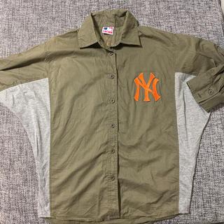 エルビーゼロスリー(LB-03)のLB-03☆シャツ ニューヨークヤンキース(シャツ/ブラウス(長袖/七分))