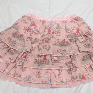 ニットプランナー(KP)の【専用】KP 赤ずきんミミちゃんチュールレースリバーシブルスカート  120(スカート)