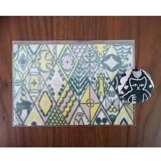 ミナペルホネン(mina perhonen)のmina perhonenシンフォニー ポストカード&くるみボタンセット(使用済み切手/官製はがき)