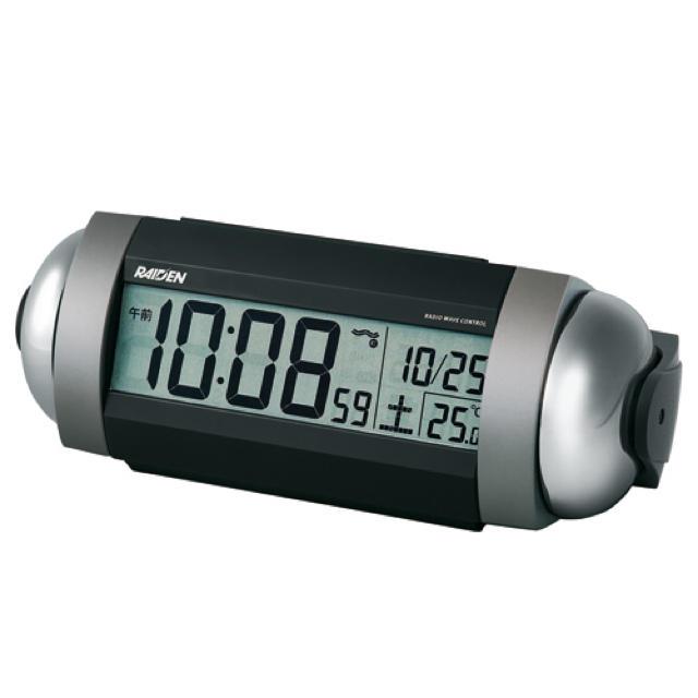 SEIKO(セイコー)のSEIKO RAIDEN ライデン 目覚まし時計  インテリア/住まい/日用品のインテリア小物(置時計)の商品写真