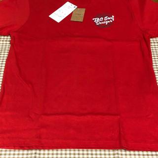 タウンアンドカントリー(Town & Country)のタウンアンドカントリー T&CTシャツ レッド Lサイズ 未使用(Tシャツ/カットソー(半袖/袖なし))