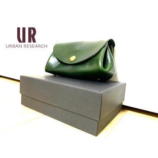 アーバンリサーチ(URBAN RESEARCH)の[新品] Urban Research アーバンリサーチ 財布 牛革 グリーン(財布)