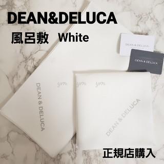 ディーンアンドデルーカ(DEAN & DELUCA)のDEAN&DELUCA 風呂敷ホワイト白  ランチョンマット エコバッグ むす美(その他)