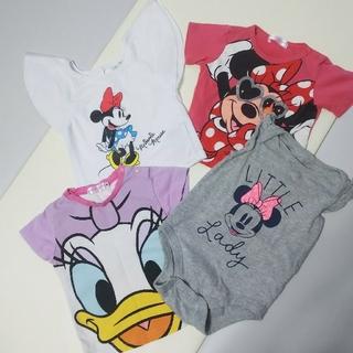 ディズニー(Disney)のミニーちゃん Tシャツ まとめ売り 80(Tシャツ)
