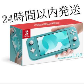 ニンテンドースイッチ(Nintendo Switch)のNintendo Switch Lite ターコイズ 任天堂スイッチ ライト(携帯用ゲーム機本体)