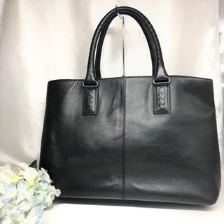 ボッテガヴェネタ(Bottega Veneta)のボッテガヴェネタ ビジネスバッグ 黒 レザー マルコポーロ(ビジネスバッグ)
